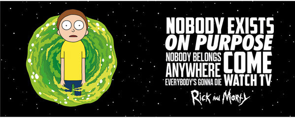 Cup Rick And Morty - Nobody Exists