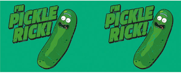 Cup Rick And Morty - Pickle Rick