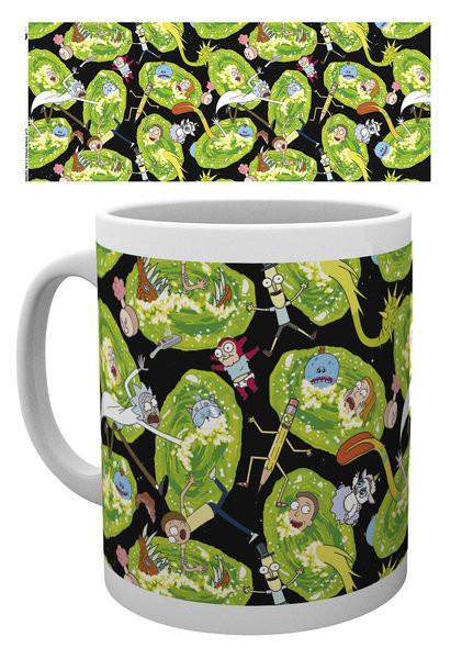 Cup Rick And Morty - Portals
