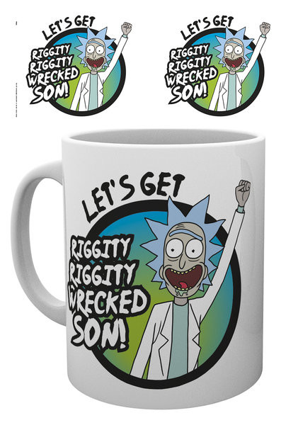 Cup Rick And Morty - Wrecked