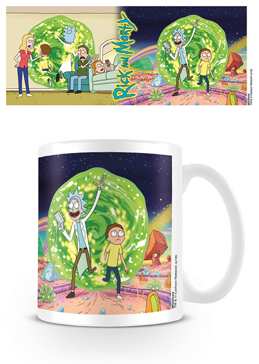 Cup Rick & Morty - Portal