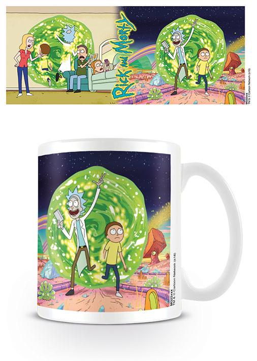 Mug Rick & Morty - Portal