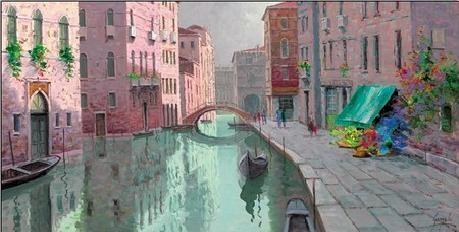 Rio di Santa Fosca, Venice Reproduction d'art