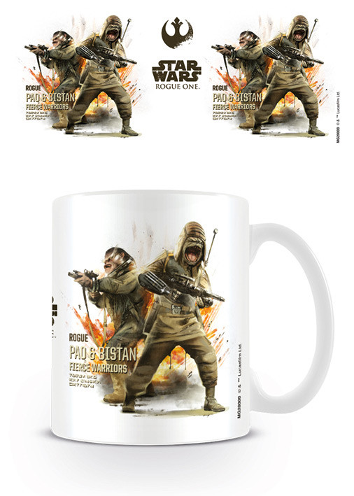 Mug Rogue One: Star Wars Story - Pao & Bistan Profile