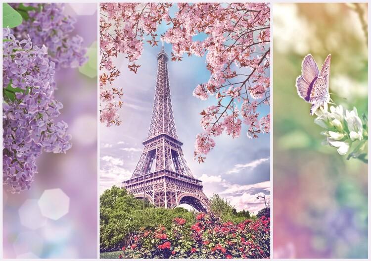 Puzzle Romantic: Spring in Paris