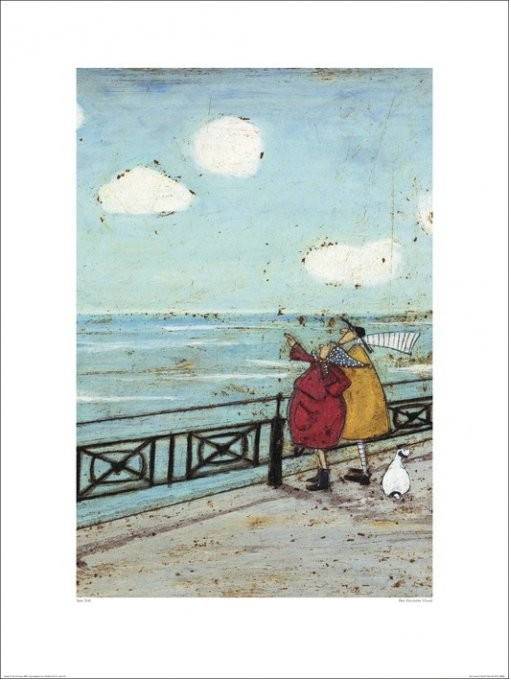 Sam Toft - Her Favourite Cloud Reproduction d'art