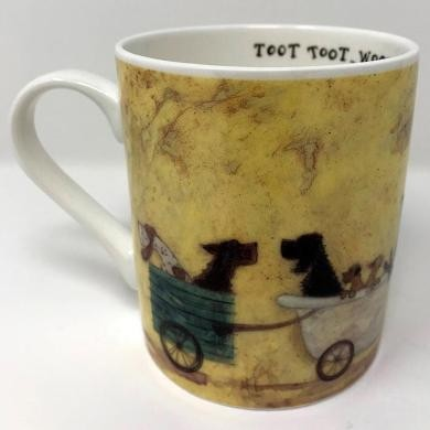 Cup Sam Toft - The Doggie Taxi Service