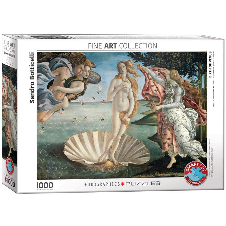 Puzzle Sandro Botticelli - Birth of Venus