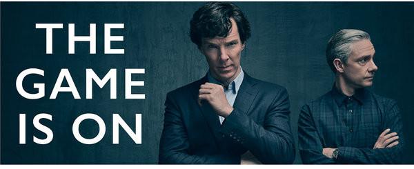 Mug Sherlock - The Game Is On