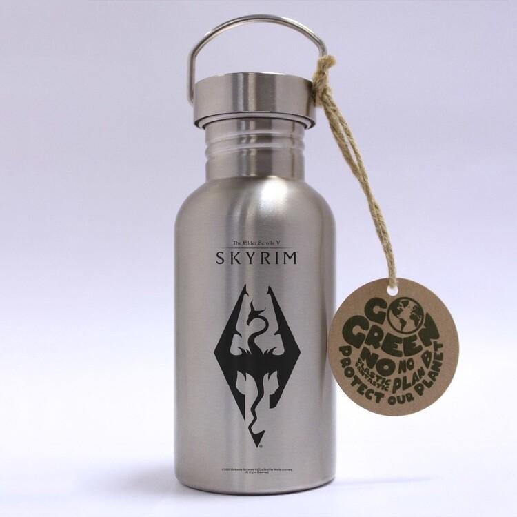 Bottle Skyrim - Dragon Symbol