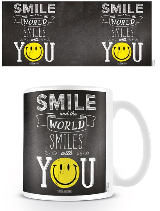 Mug Smiley - World Smiles With You