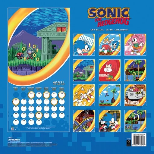 Sonic   Wall Calendars   Large selection