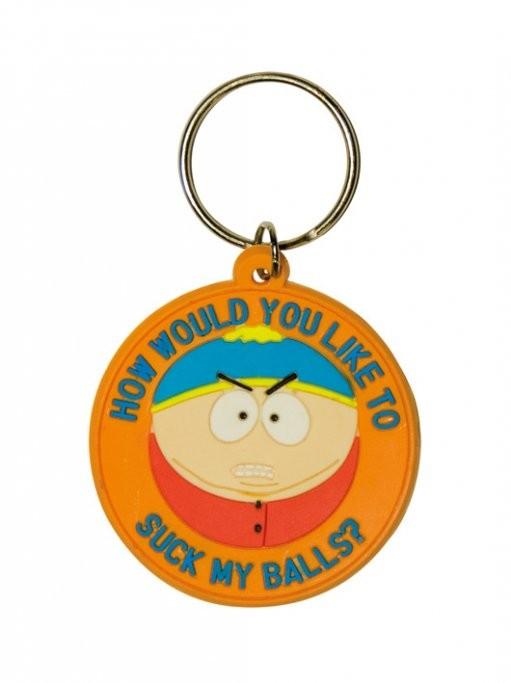 SOUTH PARK - Cartman / suck my balls Porte-clés