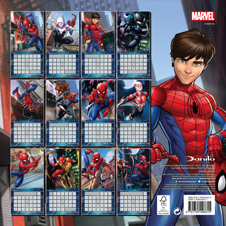 Spiderman   Wall Calendars | Large selection