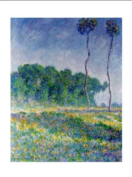 Spring Landscape Reproduction d'art