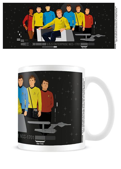Cup Star Trek - Characters Illustration