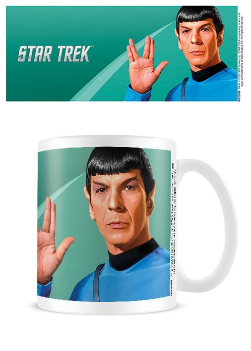 Cup Star Trek - Spock Green
