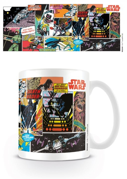 Cup Star Wars - Comic Panels