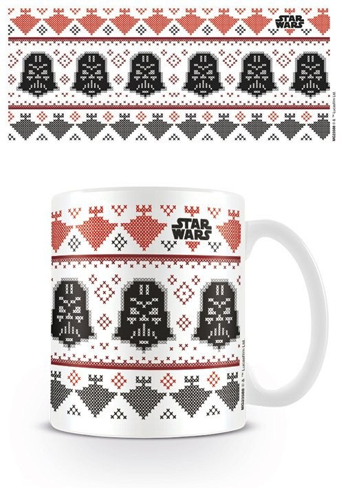 Cup Star Wars - Darth Vader Xmas