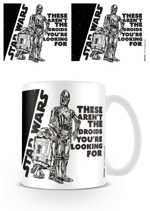 Mug Star Wars - Droids