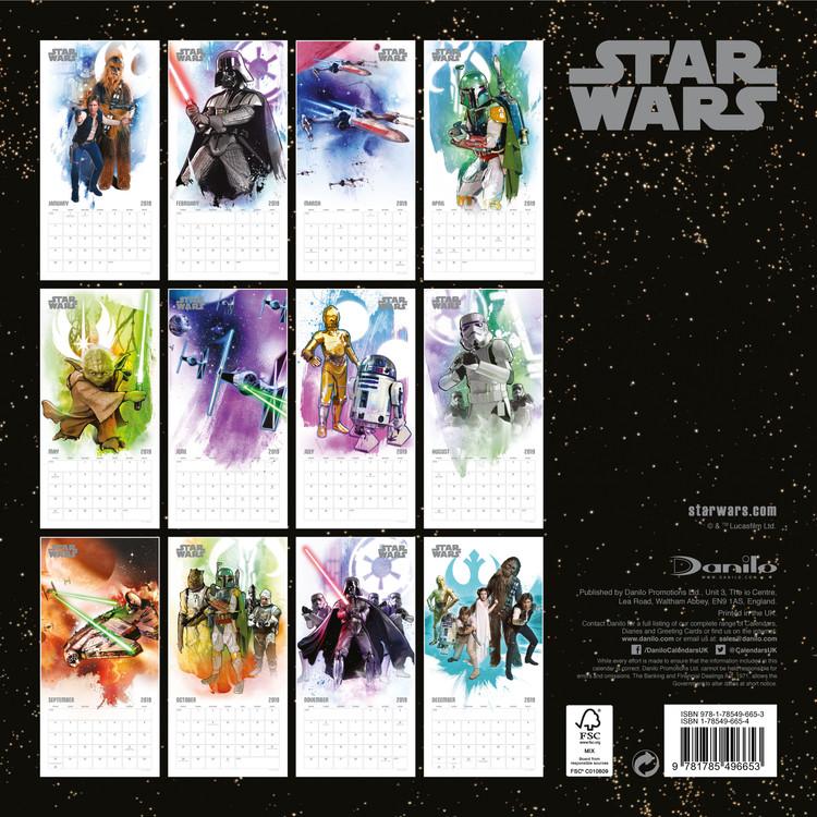 Calendario Star Wars 2021 Star Wars   Wall Calendars | Large selection