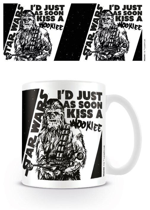 Mug Star Wars - Kiss a Wookie