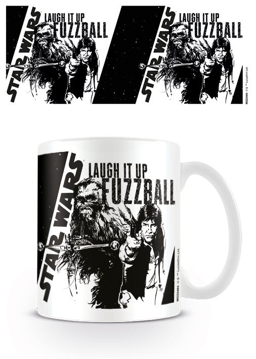 Mug Star Wars - Laugh it up Fuzzball
