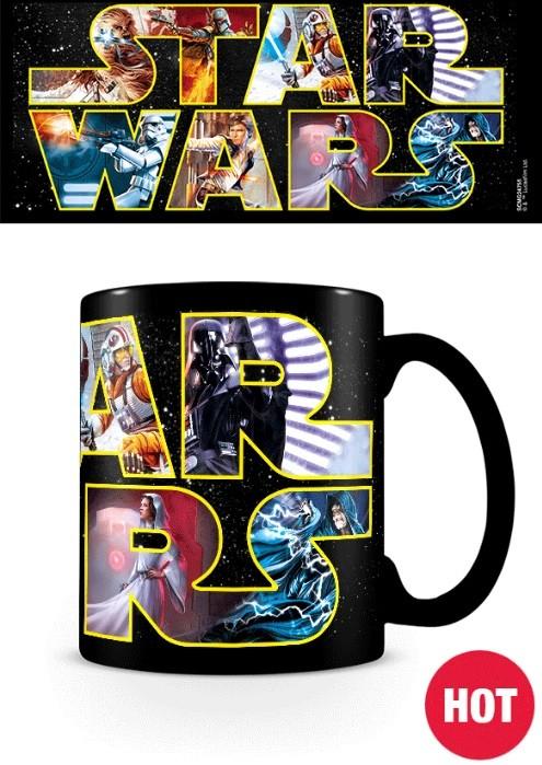 Mug Star Wars Logo Characters Europosters Eu