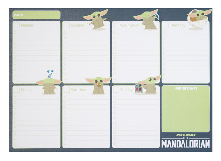 Planner Star Wars: The Mandalorian
