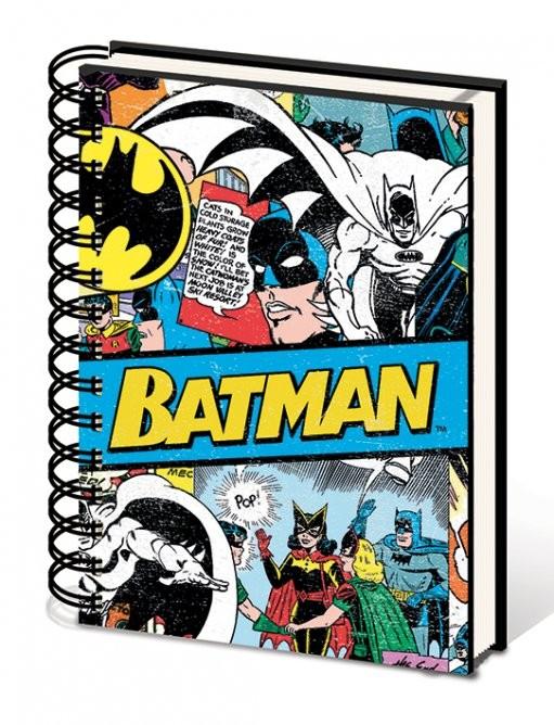 Batman - Budget A5 Notebook  Stationery