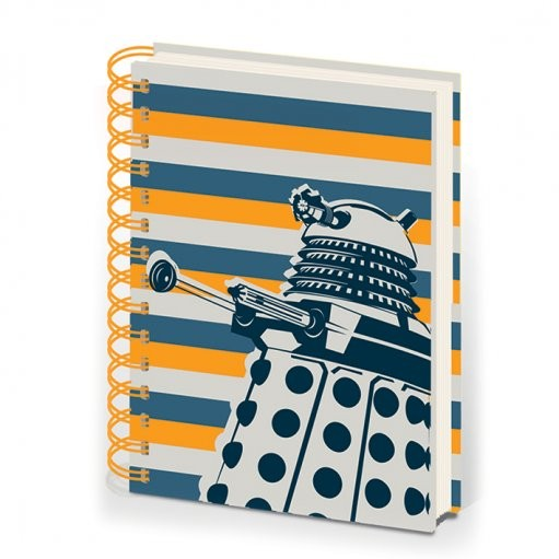 DOCTOR WHO - notebook A5 dalek stripe Stationery