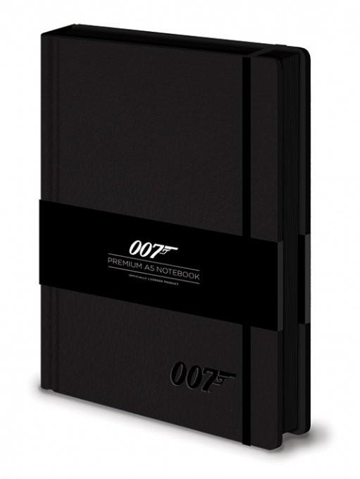 James bond - 007 Logo  Premium A5 Notebook  Stationery