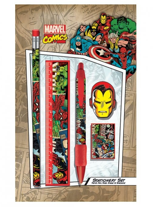 Marvel Retro - Montage stationery set Stationery