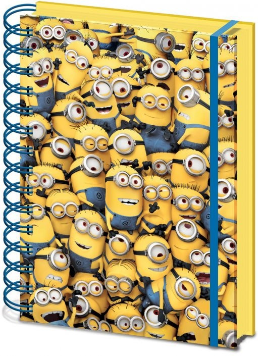 Minions (Despicable Me) - Many Minions A5 notebook Stationery