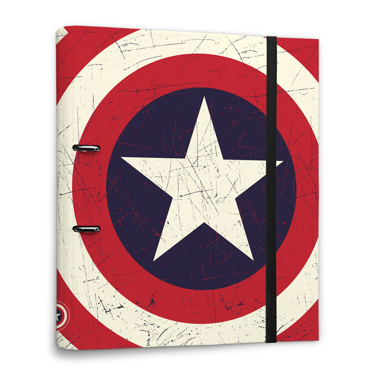 Stationery Captain America - Shield