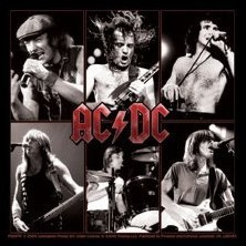 AC/DC - live Sticker