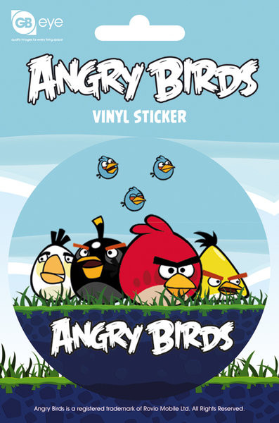 Angry Birds - Group Sticker