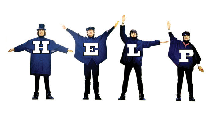 Image result for help beatles