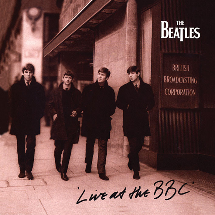 BEATLES - live at the bbc Sticker