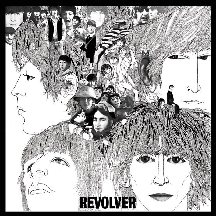 BEATLES - revolver Sticker