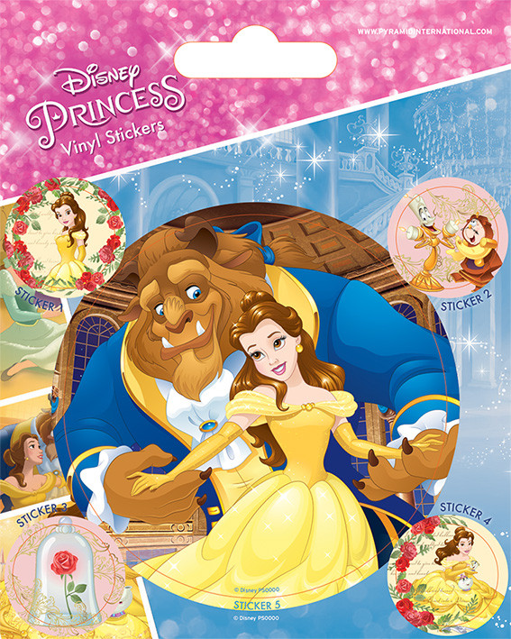 Beauty and the Beast - Tale As Old As Time Sticker