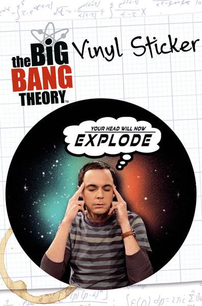BIG BANG THEORY - explode  Sticker