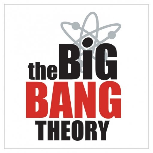 BIG BANG THEORY - logo Sticker