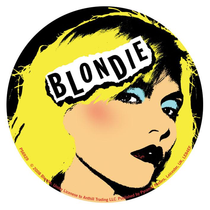BLONDIE Sticker : Sold at EuroPosters