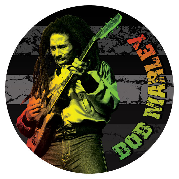bob marley guitar sticker sold at abposters