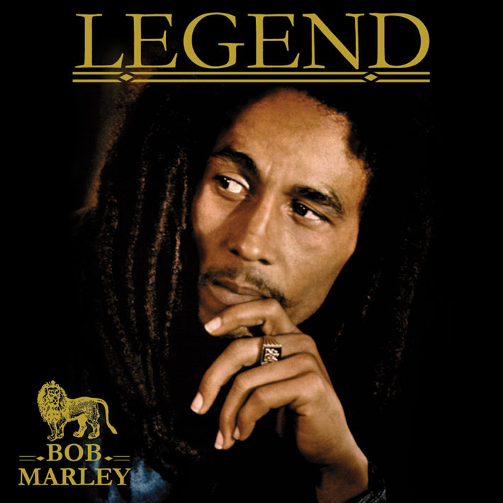 BOB MARLEY - legend Sticker