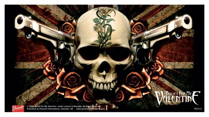 Bullet For My Valentine Skull Sticker Sold At Abposters Com