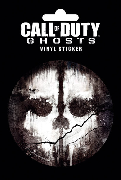 Call Of Duty: Ghosts - Skull Sticker