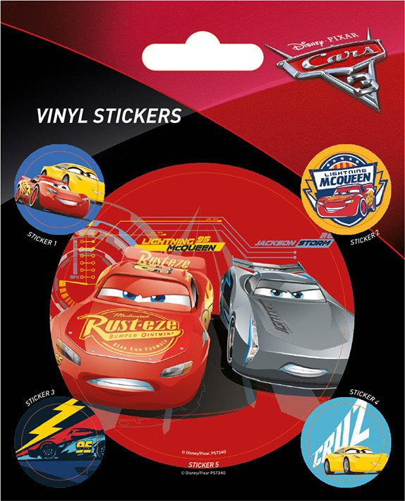 Cars 3 - Racing Sticker