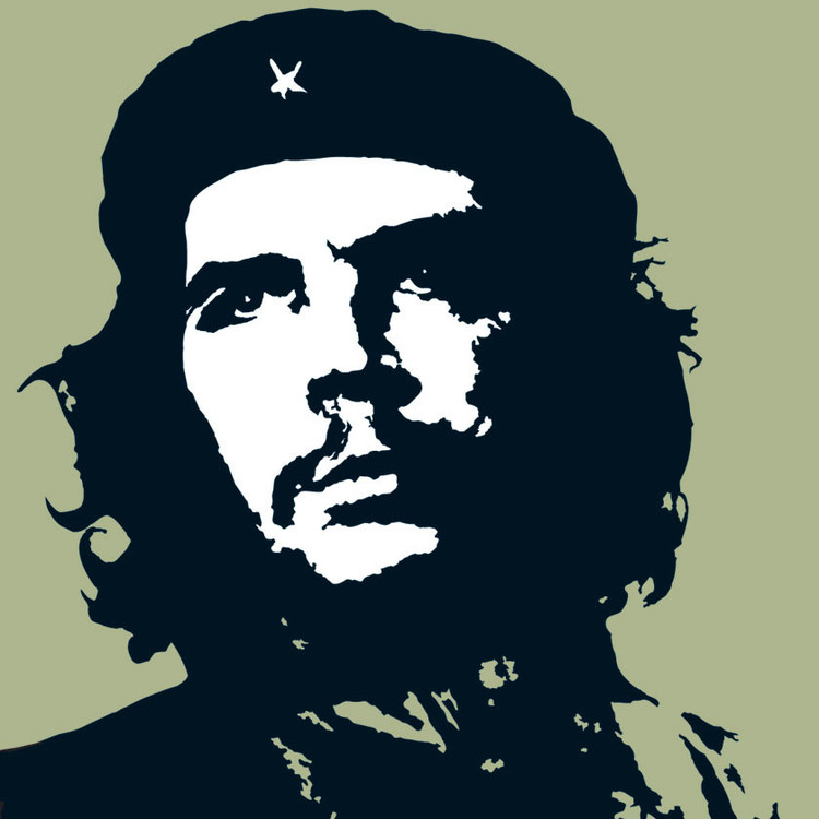 CHE GUEVARA - green Sticker